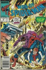Web of Spider-Man (1985-1995) #43 Variant A: Newsstand Edition