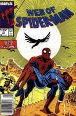Web of Spider-Man (1985-1995) #45 Variant A: Newsstand Edition