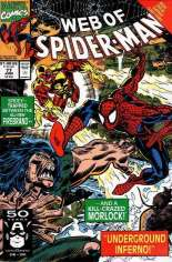 Web of Spider-Man (1985-1995) #77 Variant B: Direct Edition