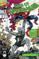 Web of Spider-Man (1985-1995) #79 Variant B: Direct Edition