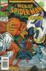 Web of Spider-Man (1985-1995) #105 Variant A: Newsstand Edition