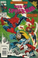 Web of Spider-Man (1985-1995) #106 Variant A: Newsstand Edition