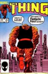Thing (1983-1986) #23 Variant B: Direct Edition