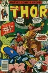 Thor (1966-1996) #276 Variant A