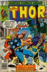 Thor (1966-1996) #284 Variant A: Newsstand Edition