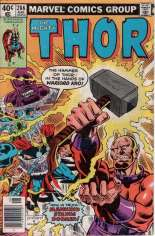 Thor (1966-1996) #286 Variant A: Newsstand Edition