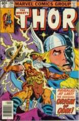 Thor (1966-1996) #294 Variant A: Newsstand Edition