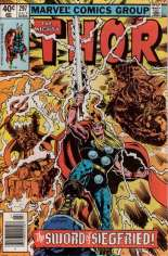 Thor (1966-1996) #297 Variant A: Newsstand Edition