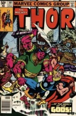 Thor (1966-1996) #301 Variant A: Newsstand Edition