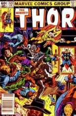Thor (1966-1996) #320 Variant A: Newsstand Edition