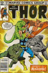 Thor (1966-1996) #321 Variant A: Newsstand Edition