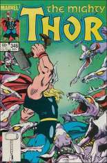 Thor (1966-1996) #346 Variant B: Direct Edition