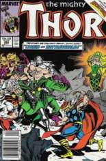 Thor (1966-1996) #383 Variant A: Newsstand Edition