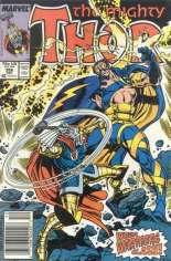 Thor (1966-1996) #386 Variant A: Newsstand Edition