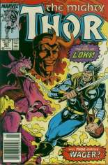 Thor (1966-1996) #401 Variant A: Newsstand Edition