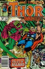 Thor (1966-1996) #405 Variant A: Newsstand Edition