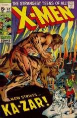 Uncanny X-Men (1963-2011) #62 Variant A