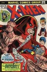 Uncanny X-Men (1963-2011) #81 Variant A