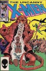 Uncanny X-Men (1963-2011) #187 Variant B: Direct Edition