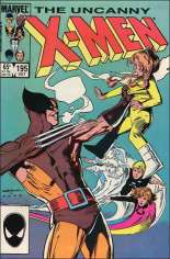 Uncanny X-Men (1963-2011) #195 Variant B: Direct Edition