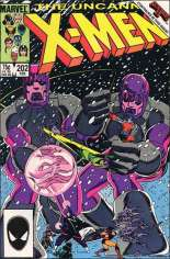 Uncanny X-Men (1963-2011) #202 Variant B: Direct Edition