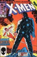 Uncanny X-Men (1963-2011) #203 Variant B: Direct Edition