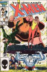 Uncanny X-Men (1963-2011) #206 Variant B: Direct Edition