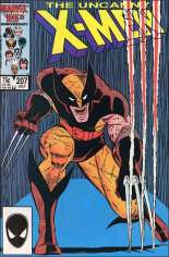 Uncanny X-Men (1963-2011) #207 Variant B: Direct Edition