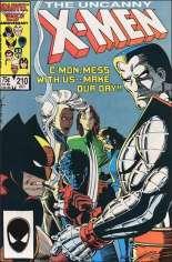 Uncanny X-Men (1963-2011) #210 Variant B: Direct Edition