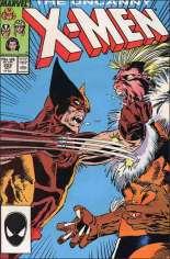 Uncanny X-Men (1963-2011) #222 Variant B: Direct Edition