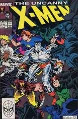 Uncanny X-Men (1963-2011) #235 Variant B: Direct Edition