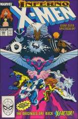 Uncanny X-Men (1963-2011) #242 Variant B: Direct Edition