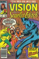 Vision and the Scarlet Witch (1985-1986) #2 Variant A: Newsstand Edition