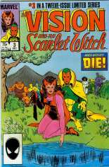 Vision and the Scarlet Witch (1985-1986) #3 Variant B: Direct Edition