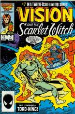 Vision and the Scarlet Witch (1985-1986) #7 Variant B: Direct Edition