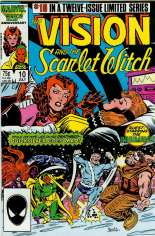 Vision and the Scarlet Witch (1985-1986) #10 Variant B: Direct Edition