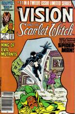 Vision and the Scarlet Witch (1985-1986) #11 Variant A: Newsstand Edition