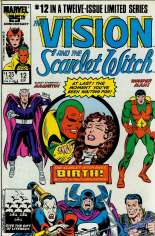 Vision and the Scarlet Witch (1985-1986) #12 Variant B: Direct Edition