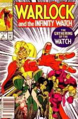 Warlock and the Infinity Watch (1992-1995) #2 Variant A: Newsstand Edition