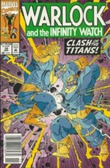 Warlock and the Infinity Watch (1992-1995) #10 Variant A: Newsstand Edition