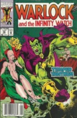 Warlock and the Infinity Watch (1992-1995) #12 Variant A: Newsstand Edition