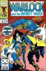 Warlock and the Infinity Watch (1992-1995) #14 Variant B: Direct Edition