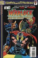 Warlock and the Infinity Watch (1992-1995) #25: Embossed Die-Cut Cover