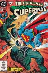Adventures of Superman (1987-2006) #497 Variant D: 3rd Printing