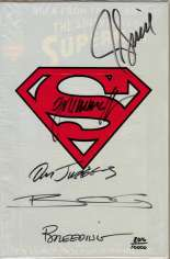 Adventures of Superman (1987-2006) #500 Variant K: DF Signed Edition; Signed by Jon Bogdanove, Brett Breeding, Tom Grummett, Jackson Guice and Dan Jurgens; Limited to 10,000 Copies