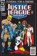 Justice League America (1989-1996) #70 Variant A: Newsstand Edition