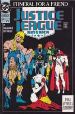 Justice League America (1989-1996) #70 Variant D: 2nd Printing