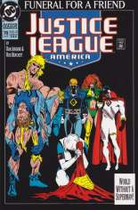 Justice League America (1989-1996) #70 Variant E: 3rd Printing