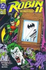 Robin II: The Joker's Wild #4 Variant B: Hologram Cover