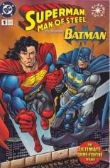 Superman: The Man of Steel (1991-2003) #1 Variant D: Kenner Platinum Edition; Kenner toy giveaway